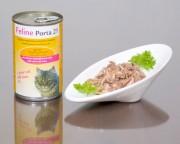 1 VE - Feline Porta 21 = 24 x 400g Thunfisch mit Krebsen (Surimi)